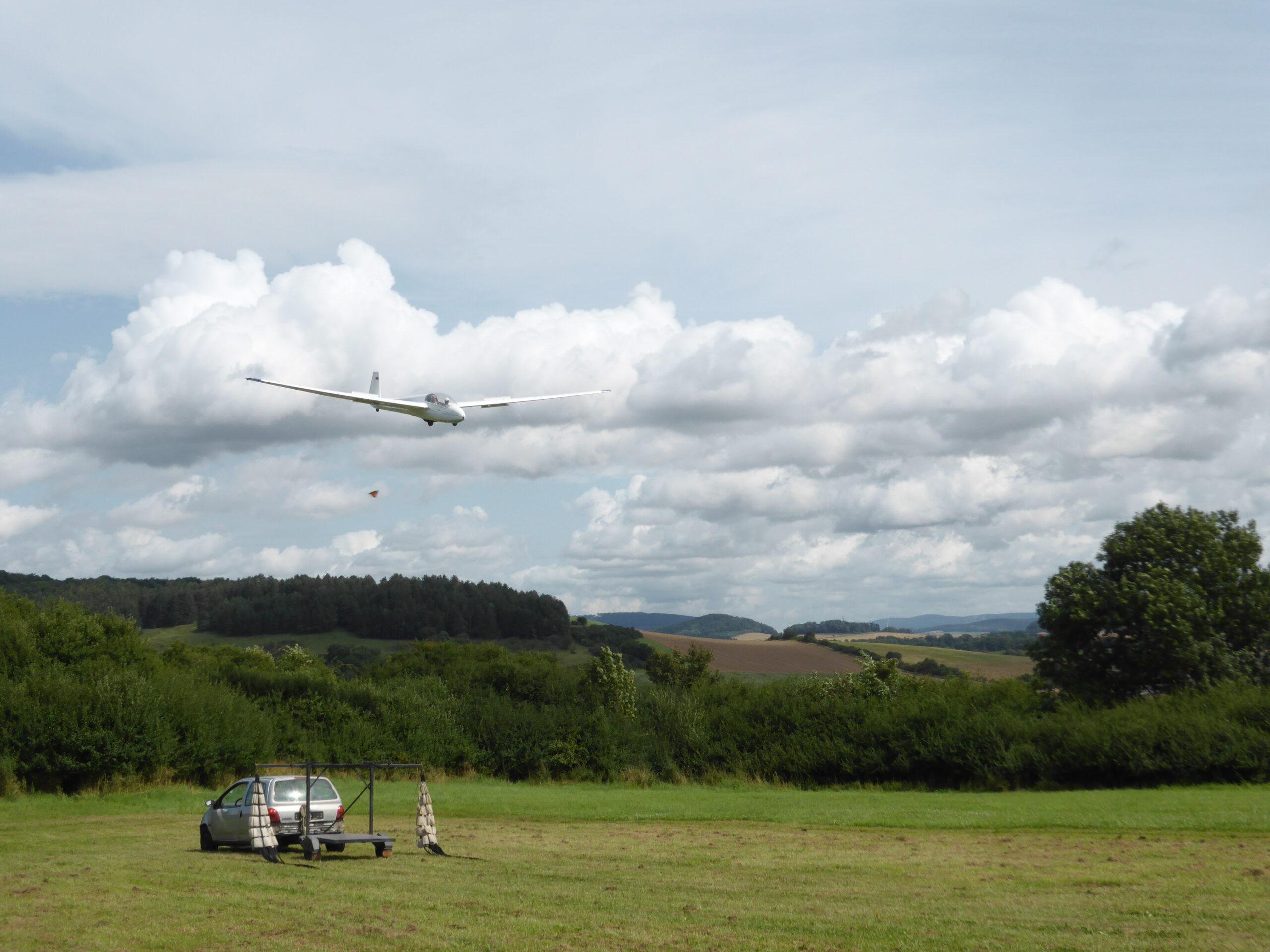 ASK-13 Landung