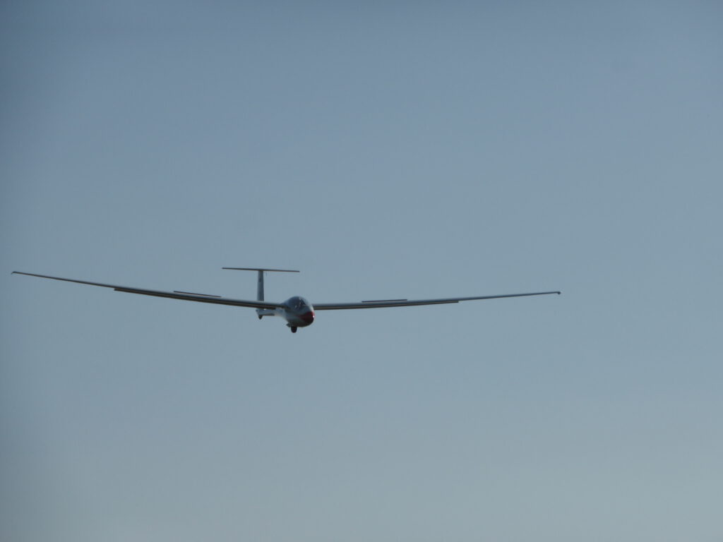 ASW-20 Anflug